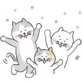 hokuohkurashi's cat stickers Sticker for LINE & WhatsApp | ZIP: GIF & PNG