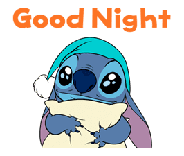 Animated Stitch (Rowdy) Sticker for LINE & WhatsApp | ZIP: GIF & PNG