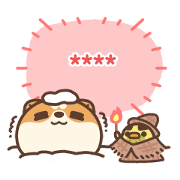 Awa's Life: Official Custom Stickers Sticker for LINE & WhatsApp | ZIP: GIF & PNG