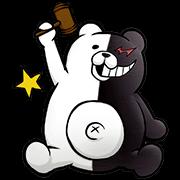 DANGANRONPA 1・2 Reload Sticker for LINE & WhatsApp | ZIP: GIF & PNG