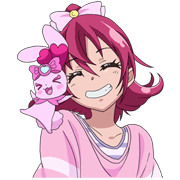 DOKI DOKI PRETTY CURE! Sticker for LINE & WhatsApp | ZIP: GIF & PNG