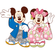 Disney Happy New Year (2013) Sticker for LINE & WhatsApp | ZIP: GIF & PNG