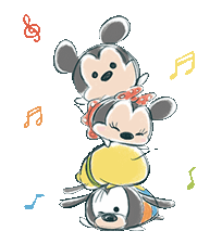 Disney TsumTsum Animated Stickers 2 Sticker for LINE & WhatsApp | ZIP: GIF & PNG