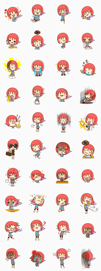 Doong Doong Line Sticker GIF & PNG Pack: Animated & Transparent No Background | WhatsApp Sticker