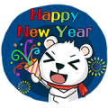 Fish123 x Polar Bear loves fish Sticker for LINE & WhatsApp | ZIP: GIF & PNG