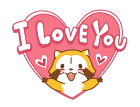 Happy ☆ RASCAL Animated Stickers Sticker for LINE & WhatsApp | ZIP: GIF & PNG