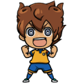 INAZUMA ELEVEN GO Sticker for LINE & WhatsApp | ZIP: GIF & PNG