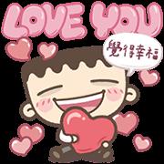 I'm Mark: Mega Sweet Talk Sticker for LINE & WhatsApp | ZIP: GIF & PNG