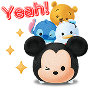 LINE: Disney TsumTsum Sticker for LINE & WhatsApp | ZIP: GIF & PNG
