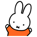 LINE NEWS × Miffy Sticker for LINE & WhatsApp | ZIP: GIF & PNG
