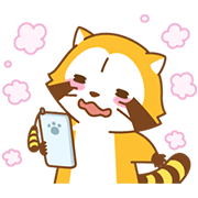 LOVE2 RASCAL Animated Stickers Sticker for LINE & WhatsApp | ZIP: GIF & PNG