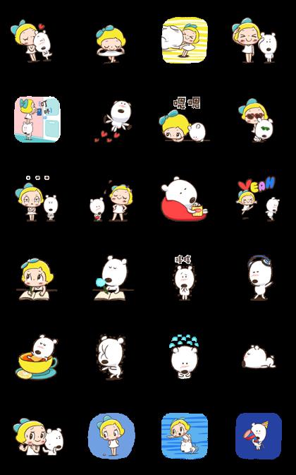 Lemon & Sugar 3 Line Sticker GIF & PNG Pack: Animated & Transparent No Background | WhatsApp Sticker