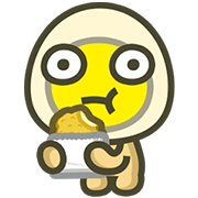 MILUEGG: Animated is tastier! Vol. 2 Sticker for LINE & WhatsApp | ZIP: GIF & PNG