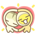 MILUEGG & Friends Sticker for LINE & WhatsApp | ZIP: GIF & PNG