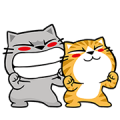 Meow Zhua Zhua No. 12 Sticker for LINE & WhatsApp | ZIP: GIF & PNG
