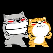 Meow Zhua Zhua No. 12 Sticker for LINE & WhatsApp   ZIP: GIF & PNG