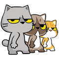 Meow Zhua Zhua - Part 11 Sticker for LINE & WhatsApp | ZIP: GIF & PNG