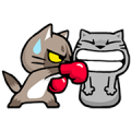 Meow Zhua Zhua - Part 3 Sticker for LINE & WhatsApp | ZIP: GIF & PNG