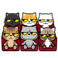 Meow Zhua Zhua - Part 4 Sticker for LINE & WhatsApp | ZIP: GIF & PNG