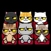 Meow Zhua Zhua - Part 4 Sticker for LINE & WhatsApp | ZIP: GIF & PNG