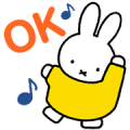Miffy Animated Stickers Sticker for LINE & WhatsApp | ZIP: GIF & PNG