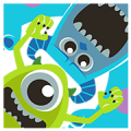 Monsters, Inc. Pop-Up Stickers Sticker for LINE & WhatsApp | ZIP: GIF & PNG