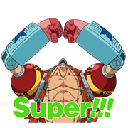 Moving ONE PIECE: Vol. 2 Sticker for LINE & WhatsApp | ZIP: GIF & PNG