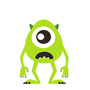 Moving Talking Monsters, Inc. Sticker for LINE & WhatsApp | ZIP: GIF & PNG