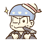 Mr.Osomatsu × SANRIO CHARACTERS―Animated Sticker for LINE & WhatsApp | ZIP: GIF & PNG