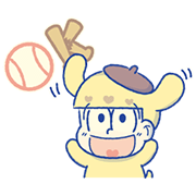 Mr.Osomatsu × SANRIO CHARACTERS―Final Sticker for LINE & WhatsApp | ZIP: GIF & PNG