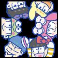 Mr. Osomatsu × SANRIO CHARACTERS