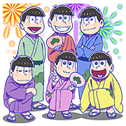 Mr.Osomatsu 3 Sticker for LINE & WhatsApp | ZIP: GIF & PNG