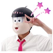 Mr.Osomatsu 6 Sticker for LINE & WhatsApp | ZIP: GIF & PNG