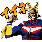 My Hero Academia 3 Sticker for LINE & WhatsApp | ZIP: GIF & PNG