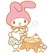 My Melody Animated Stickers Sticker for LINE & WhatsApp | ZIP: GIF & PNG