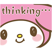 My Melody: Sweet as Can Be! Sticker for LINE & WhatsApp | ZIP: GIF & PNG