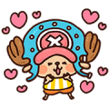 ONE PIECE Kanahei Style Sticker for LINE & WhatsApp | ZIP: GIF & PNG