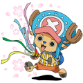 ONE PIECE SECOND SERIES Sticker for LINE & WhatsApp | ZIP: GIF & PNG