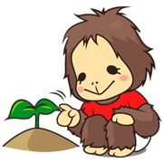 OrangUtan WWF Indonesia – Free Edition Sticker for LINE & WhatsApp | ZIP: GIF & PNG
