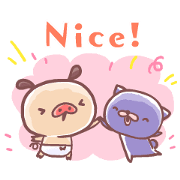PANPAKA PANTS: Soft & Fluffy Days Sticker for LINE & WhatsApp | ZIP: GIF & PNG