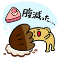 POP Chocolat Collaboration: Kinoko no Yama & Takenoko no Sato Sticker for LINE & WhatsApp | ZIP: GIF & PNG