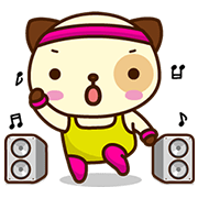 Panda Dog Animated Stickers Sticker for LINE & WhatsApp | ZIP: GIF & PNG