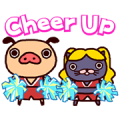 Panpaka Pants: Dancin' and Talkin' Sticker for LINE & WhatsApp | ZIP: GIF & PNG