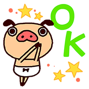 Panpaka Pants: Talking Pop-Ups 2 Sticker for LINE & WhatsApp | ZIP: GIF & PNG