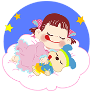 Peko-chan's Smiley Stickers Sticker for LINE & WhatsApp | ZIP: GIF & PNG