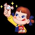 Peko's Milky Melody Stickers