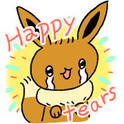 Pokémon: Eevee Stickers Sticker for LINE & WhatsApp | ZIP: GIF & PNG