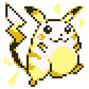 Pokémon Pixel Artwork and Sounds! Sticker for LINE & WhatsApp | ZIP: GIF & PNG