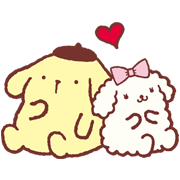 Pompompurin and Friends Sticker for LINE & WhatsApp | ZIP: GIF & PNG