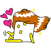 Puccho × Ryo Inoue Collaboration Stickers Sticker for LINE & WhatsApp | ZIP: GIF & PNG